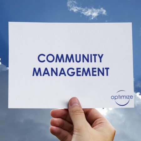 Community Management avec Optimize360