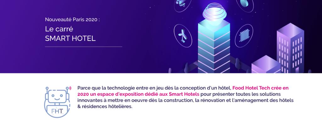 Smart hotel au salon FHT